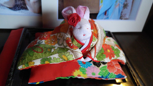 Japanese house animal deity rabbit