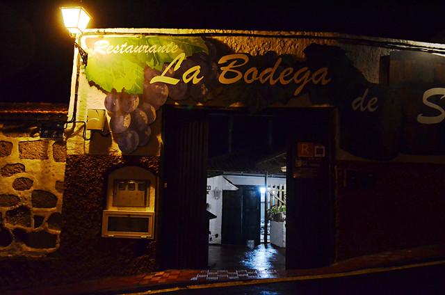 Restaurant, San Miguel de Abona, Tenerife