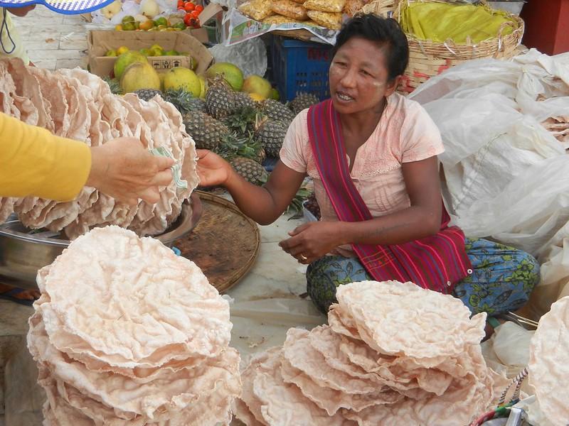 Хлебные лепешки Бирма