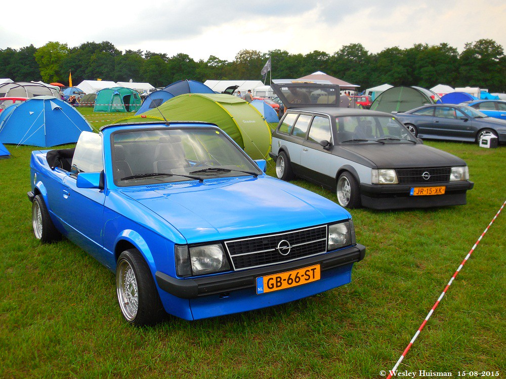 opel kadett d bieber cabrio 1980 gb 66 st caravan c20x. Black Bedroom Furniture Sets. Home Design Ideas