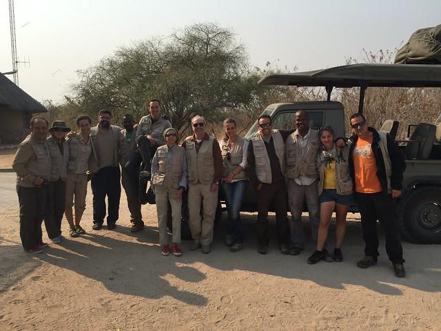 Grupo de Mopane Safaris en Botswana
