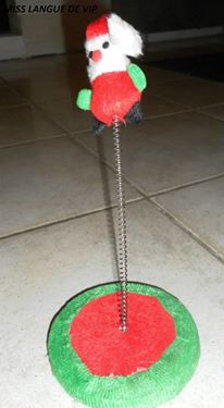 support X-mas CAT TOY