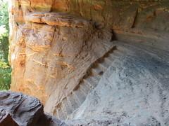 Stufen zur Genovevahöhle
