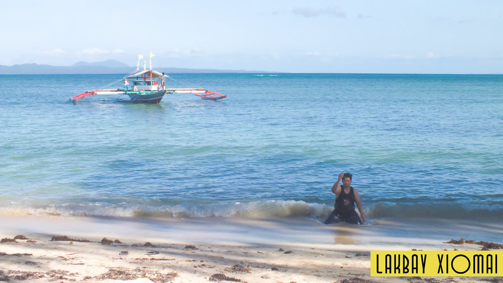 The beach... Uhm. | Lakbay Xiomai - Cagbalete Island, Mauban, Quezon