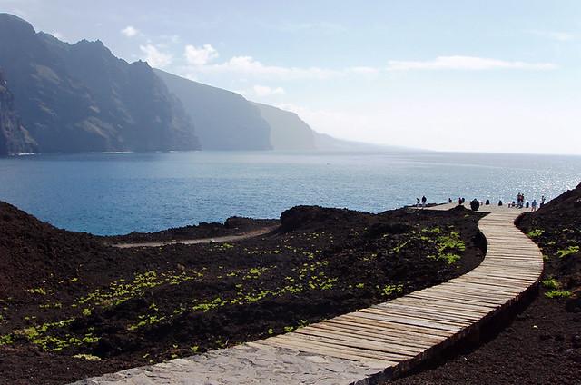 Los Gigantes from Punta de Teno, Tenerife
