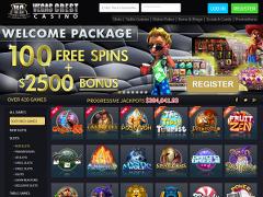 Vegas Crest Casino Lobby