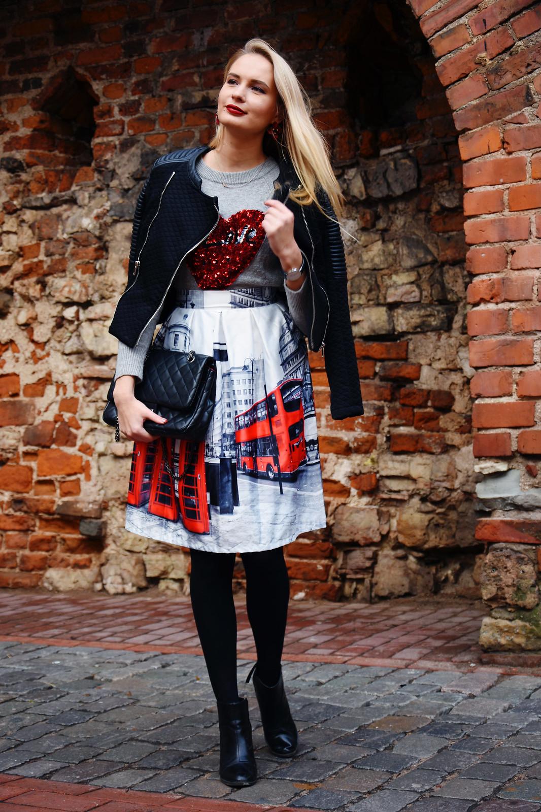 Festive season outfit idea