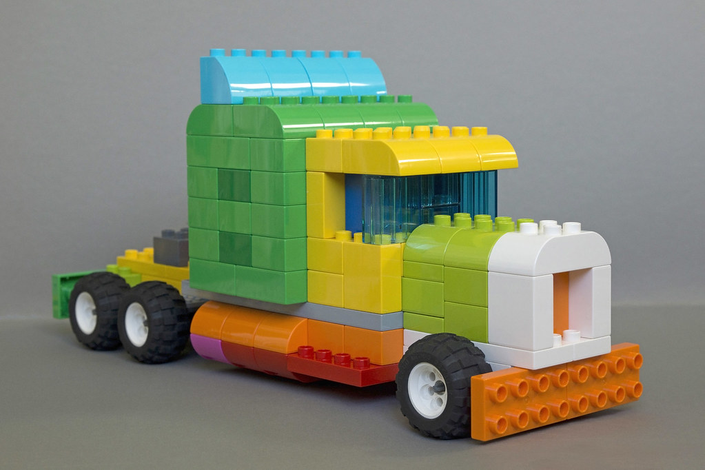 Duplo truck this year i didn 39 t really managed to build a - Lego duplo ideen ...