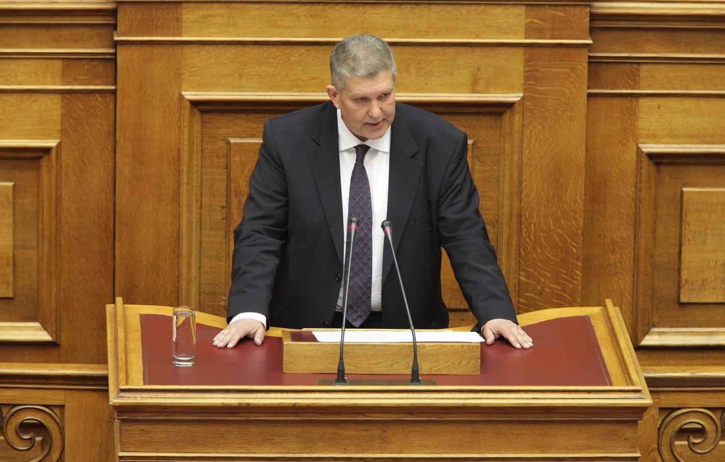 Ομιλία του Γ. Καραγιάννη στη συζήτηση επί της πρότασης δυσπιστίας κατά της Κυβέρνησης