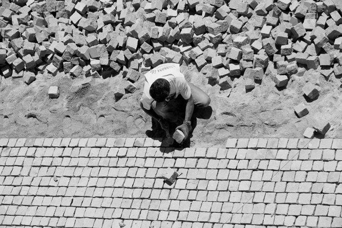 Fotografia em palavras: Construção