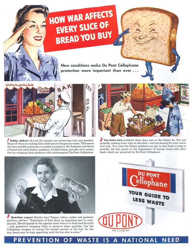 Du Pont Cellophane - published in Life - August 31, 1942
