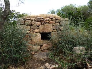 Le four à pain de la 2ème maison de Ghjuncaghjola