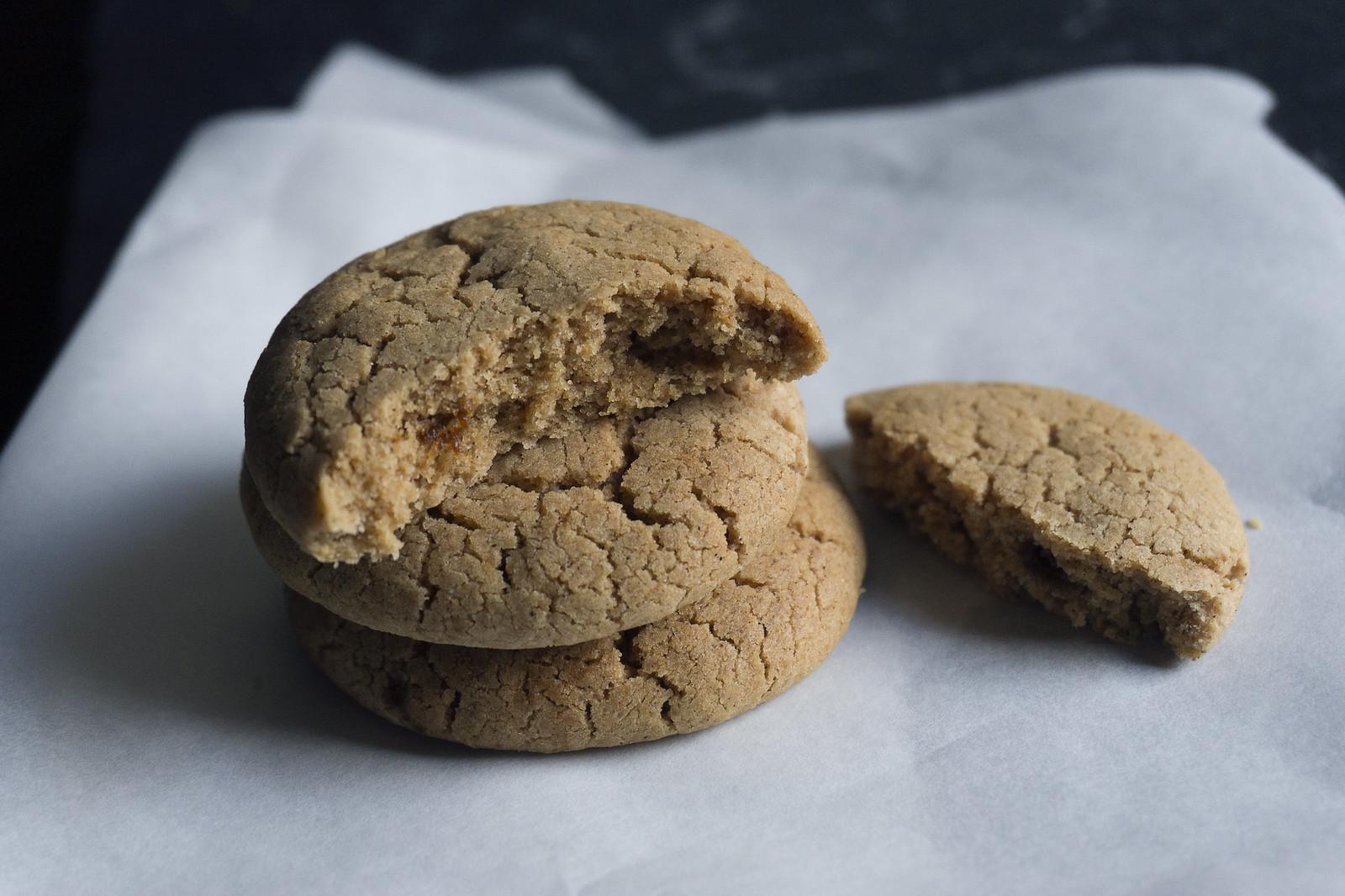 Gluten Free Ginger Cookies - Kimi Eats Gluten Free