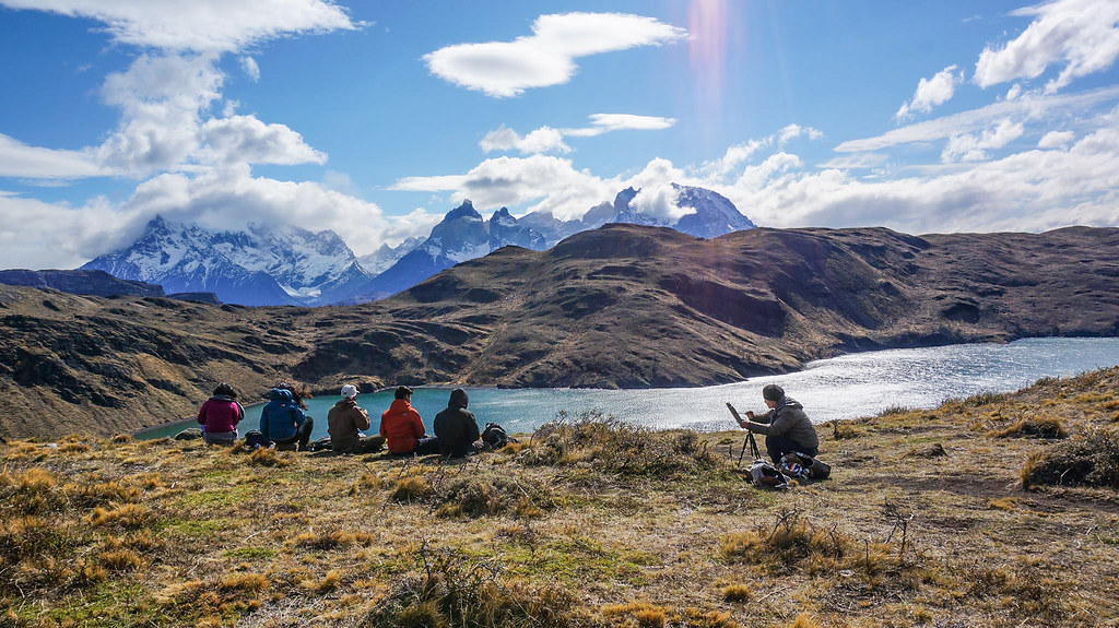 Torres del Paine Painting