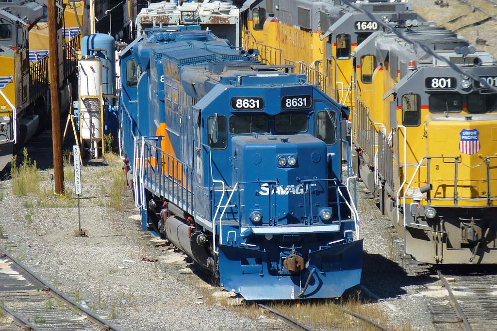 Savage Tunnel Motors Svgx 8631 Emd Sd40t 2 In Denver Co