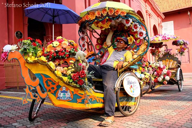 Melaka's rickshaw - Melaka, Malaysia