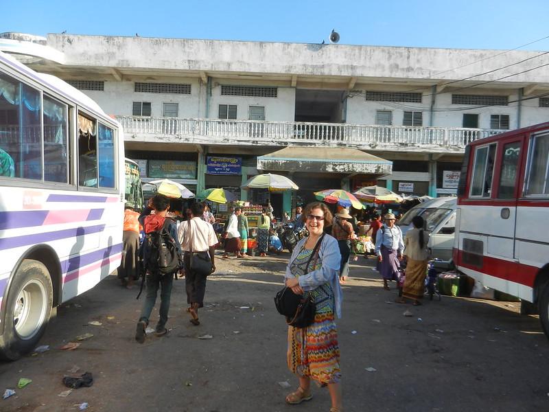 Мандалай,автостанция