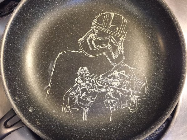 Star Wars The Force Awakens Captain Phasma Pancake