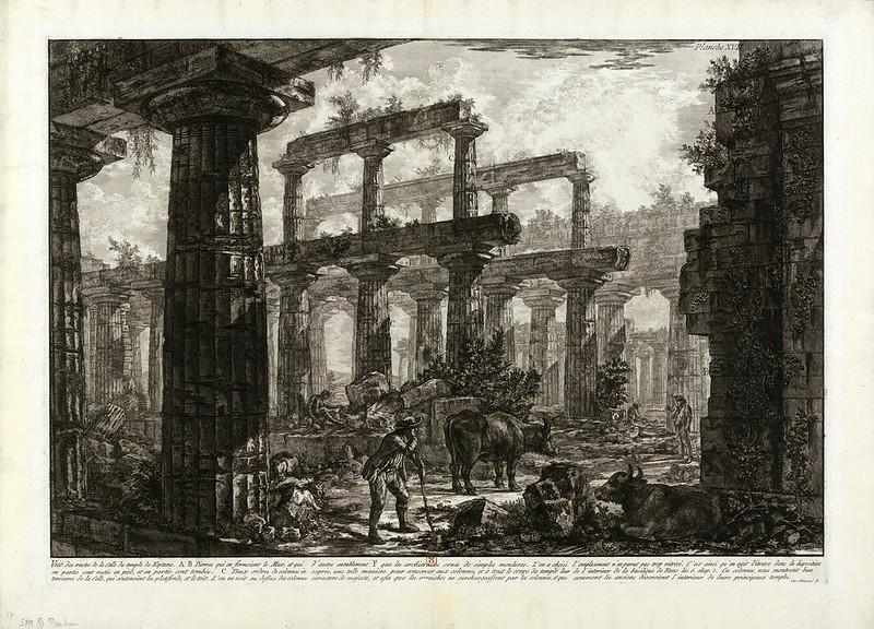Paestum - Piranesi