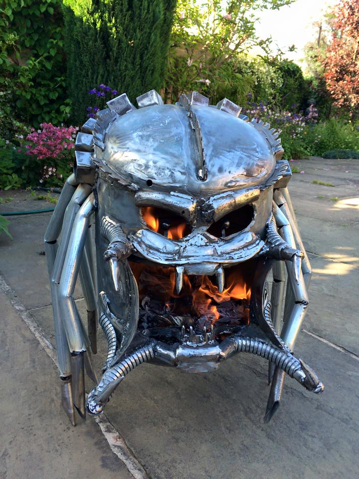 Geeky Wood Burners Amp Fire Pits By Burned By Design