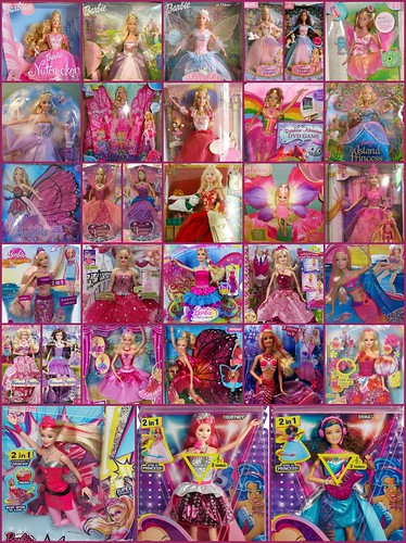 2015 Barbie collection Holiday gift catalog