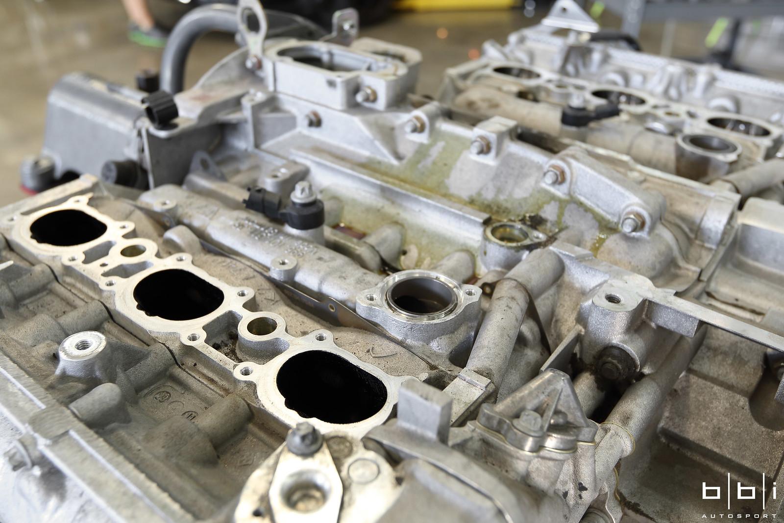 2010 Porsche GT3 Cup 3 8 Liter Factory Engine Rebuild at