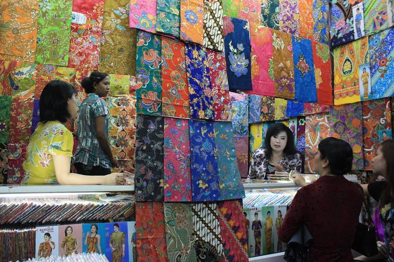Bogyoke Aung San Market = Рангун