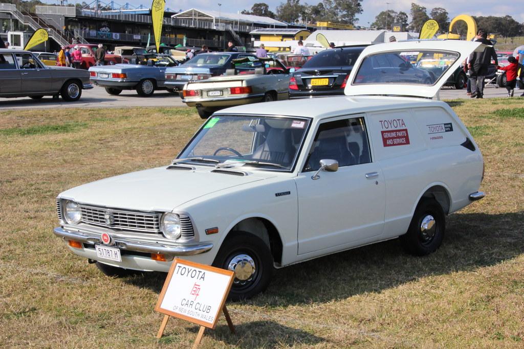 1973 Toyota Ke26 Corolla Panel Van 1973 Toyota Ke26