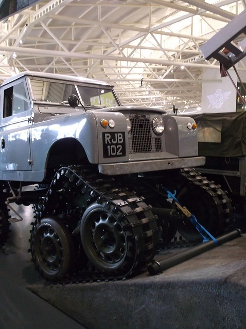 Tracked Landrover