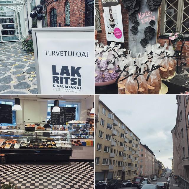 lakritsi- ja salmiakkifestivaalit, wanha satama, helsinki, suomi, finland, katajanokka, herkkuruokakauppa, anton & anton, kruununhaka, krunikka, kuljeskelua, kadut, streets, sun, aurinko, licorice festival, delicatessen grocers, nice stroll around the town,, life, elämä, lifestyle,