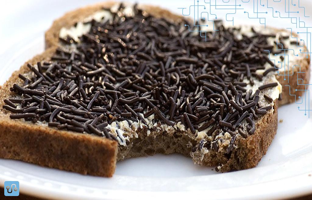 Quem precisa de Nutella com essa maravilha de sanduíche holandês? (sinta a ironia em meu tom)
