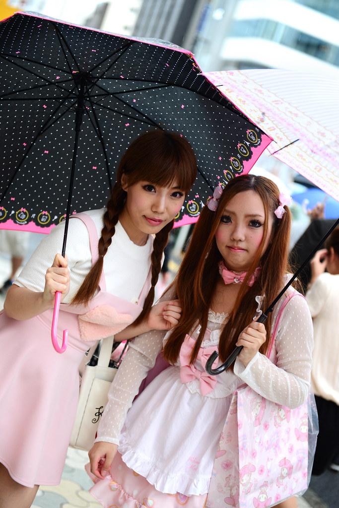 Japonesas disfrazadas en Japón