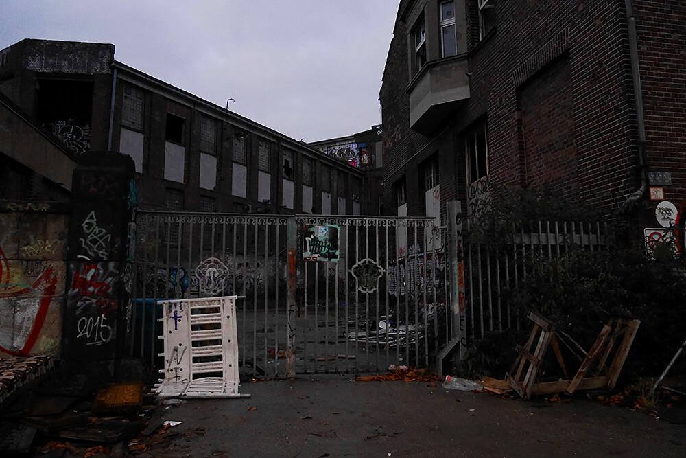 hylätty rakennus