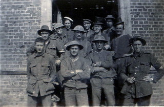 Bearers at Mailly-Maillet