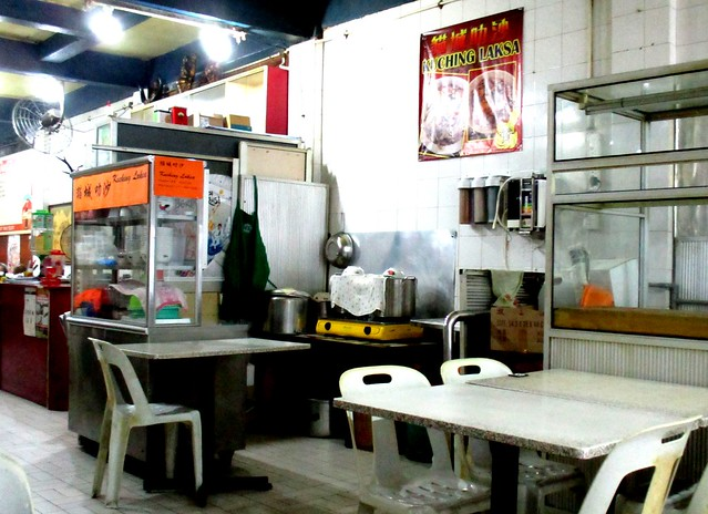Chieng's Corner laksa stall