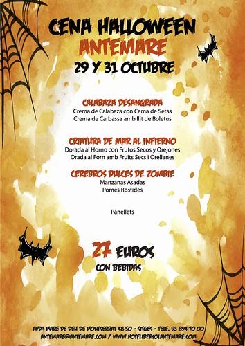 Hotel Antemare - Sopar Halloween 2016