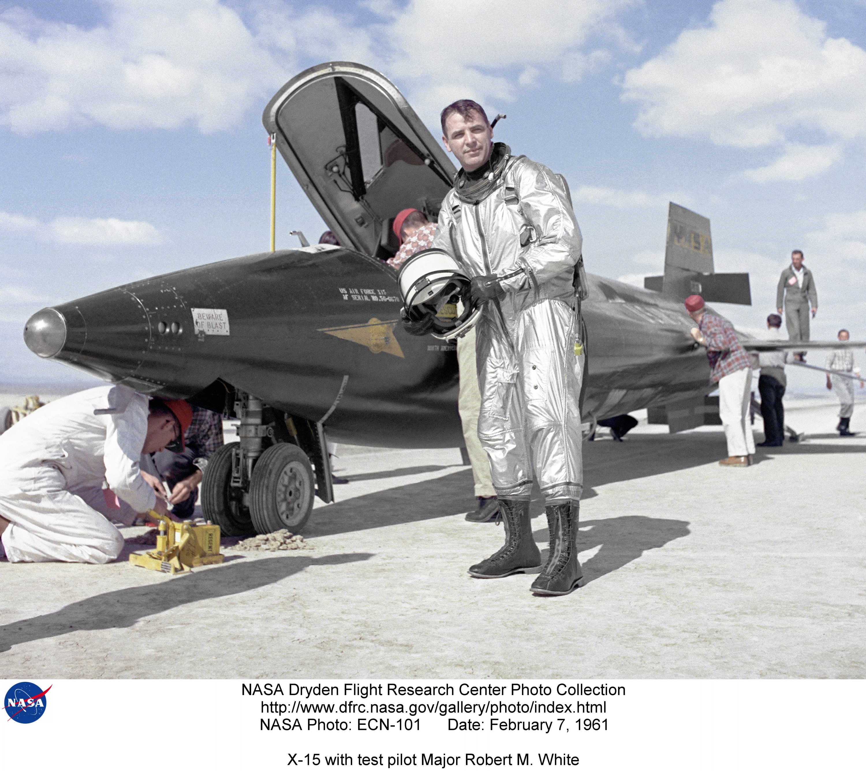 Amazing Historical Photo of Robert White on 6/1961