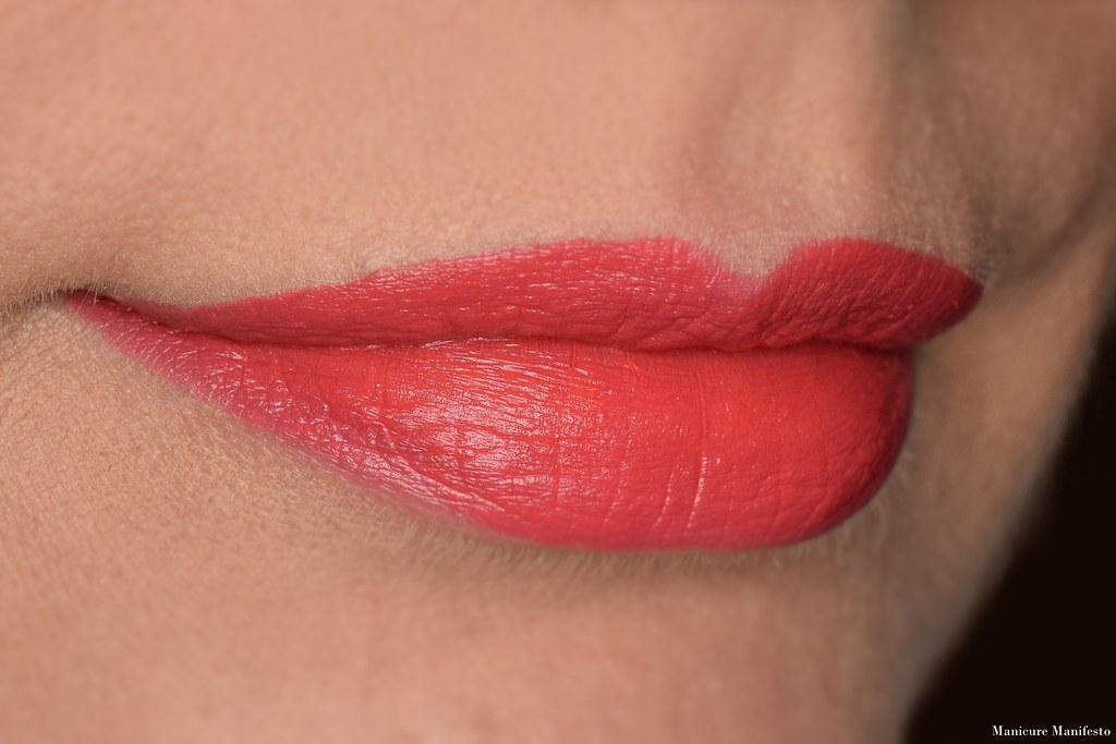 Howl Cosmetics Risk lipstick swatch