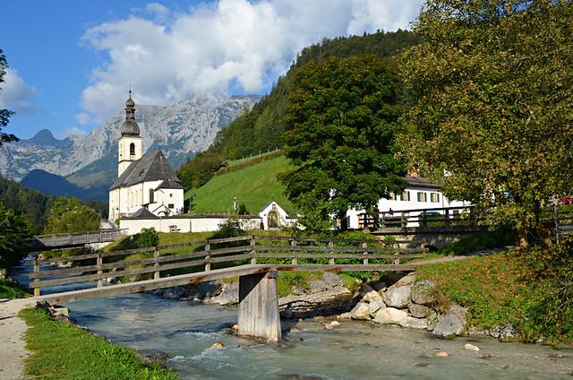 St Sebastian church, Ramsau, Bavaria