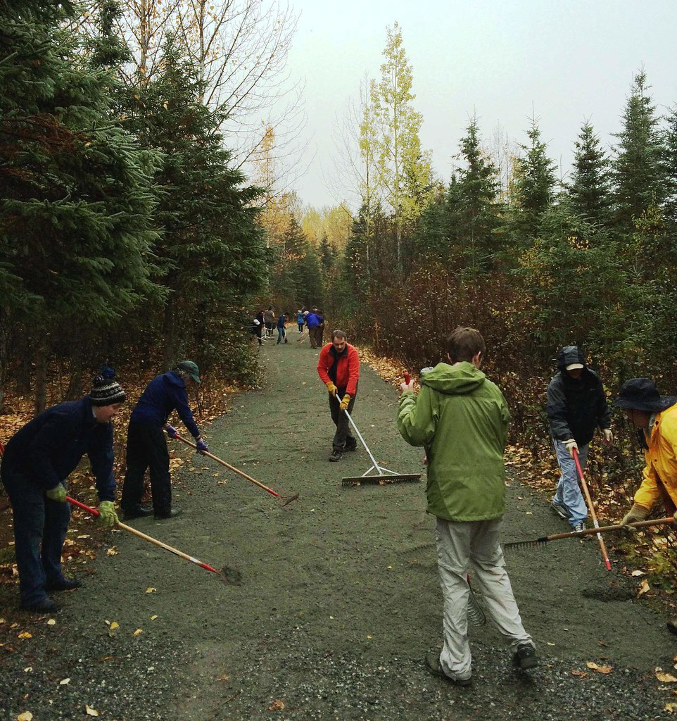 Npld 2015 blm alaska and volunteers hard at work there for Free land in alaska