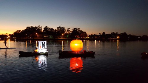 The Great Pumpkin under tow.