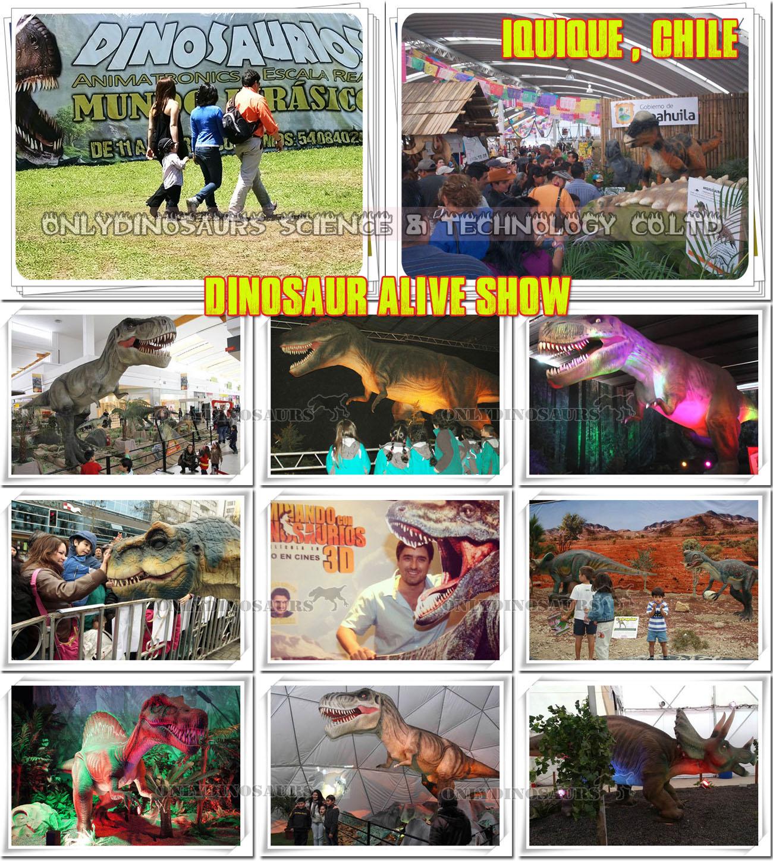 Dinosaur Exhibition in Chile