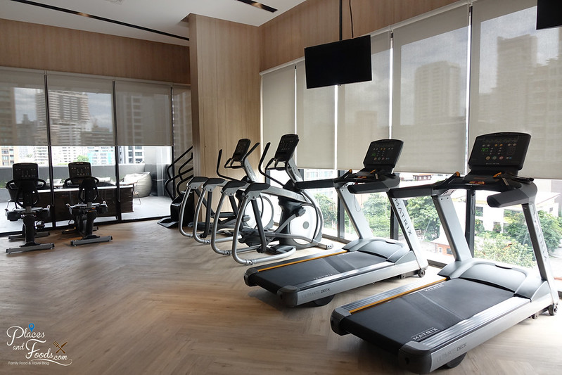 compass skyview hotel bangkok gym