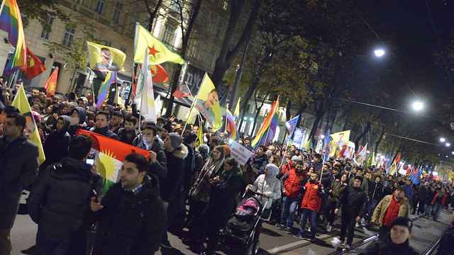 #SolidarityWithHDP Demo in #Wien
