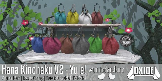 OXIDE Hana Kinchaku V2 - Yule Version