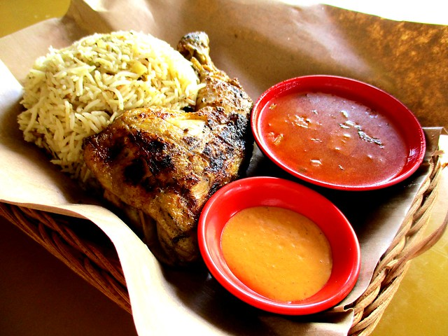 Peri-peri chicken rice