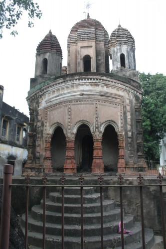 Jaleswar Temple - During Wiki Loves Monuments 2016, Kalna, West Bengal India