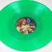 "ACTION SAMPLER JANIS JOPLIN CBS Green Vinyl 12"" LP VINYL"