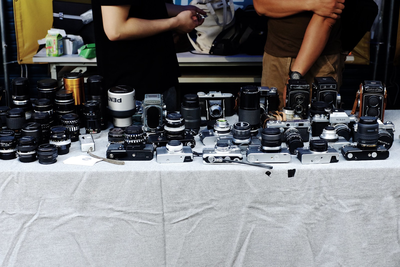 Head to the stalls near Guanghua Electronic Plaza to find cameras and film in Taipei