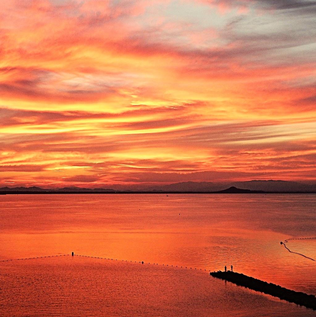 Mágico atardecer - Magical sunset | Cuando cae el sol, al